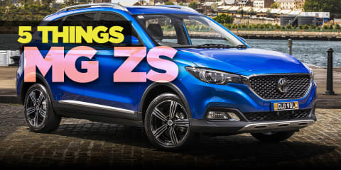 2018 MG ZS: 5 things about MG's new small SUV