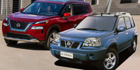 Nissan X-Trail through the ages: 2021, back to 2001