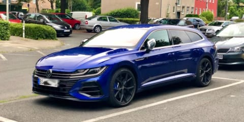 2021 Volkswagen Arteon R wagon caught in the wild