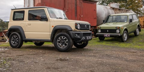 Old v New: Suzuki Jimny v Lada Niva comparison