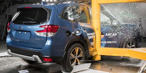 2019 Subaru Forester scores five-star ANCAP rating