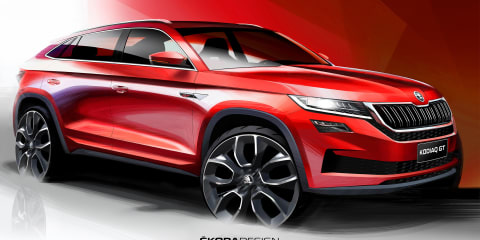Skoda Kodiaq GT teased for China