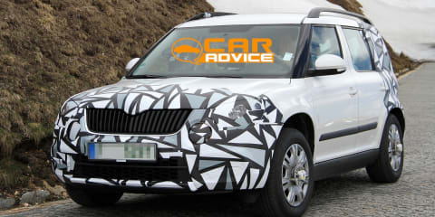 Skoda Yeti: sharper new look for compact SUV