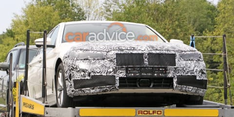 2021 BMW 5 Series Touring spied again