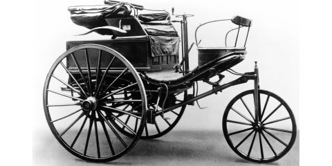 Bertha Benz takes world's first road trip; changes automotive history