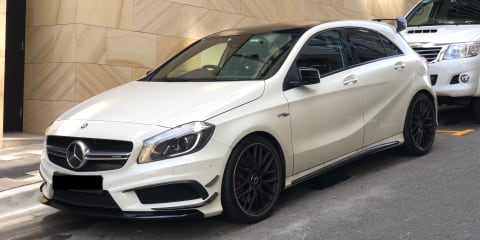 2015 Mercedes-Benz A45 AMG review