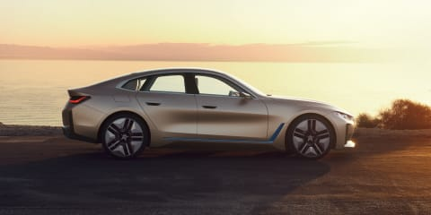 2020 BMW i4 EV revealed in late-stage concept form