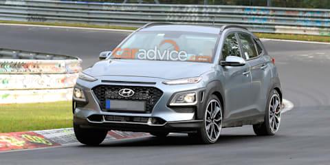 2021 Hyundai Kona N spied
