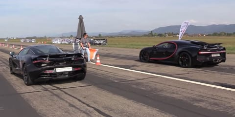 Chiron v 720S drag race - video