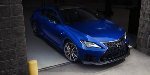 2019 Lexus RC F pricing and specs