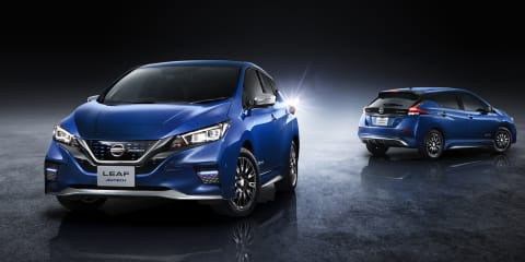 Nissan Leaf Autech revealed for Japan
