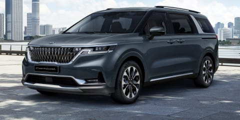 2021 Kia Carnival revealed ahead of Australian launch - UPDATE