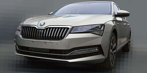 2020 Skoda Superb leaked