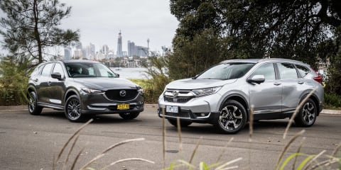 2020 Honda CR-V v Mazda CX-5 comparison