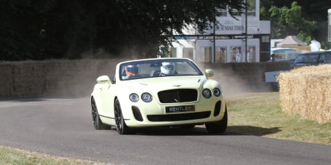 2010 Bentley Continental Supersports Convertible debuts at Goodwood