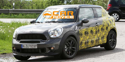 Mini Countryman Coupe spy shots