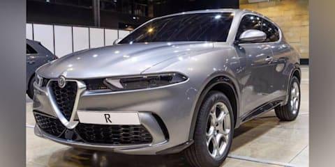 2021 Alfa Romeo Tonale leaked