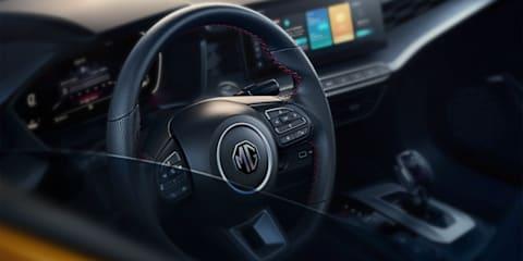 2021 MG 5 sedan revealed in Beijing - UPDATE: Australia confirmed