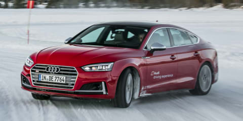 2017 Audi S5: Carving up the ice in Sweden