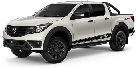 2019 Mazda BT-50 Boss revealed from $55,990