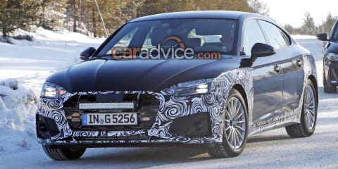 2020 Audi A5 Sportback spied