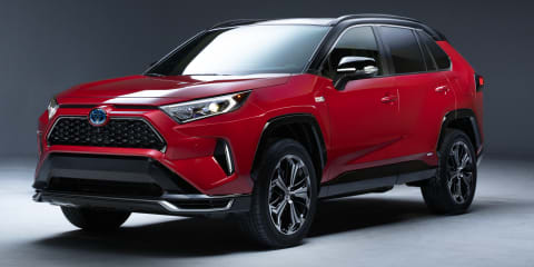 2021 Toyota RAV4 PHEV: Plug-in SUV teased, not for Australia