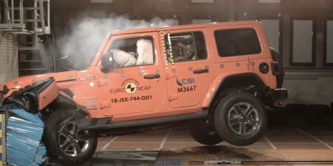 2020 Jeep Wrangler safety upgrade from 1 star to 3 stars, weak structure still in the way of a 5-star score