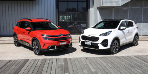 2020 Kia Sportage v Citroen C5 Aircross comparison