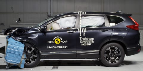 CR-V, G-Class, Tarraco score five stars in Euro NCAP testing