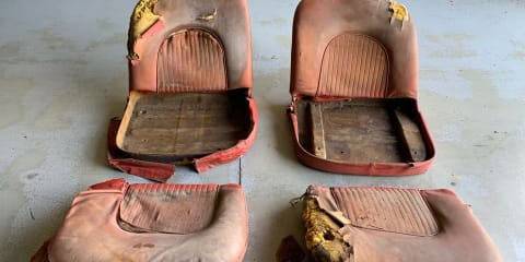 These old car seats are selling for $126,000