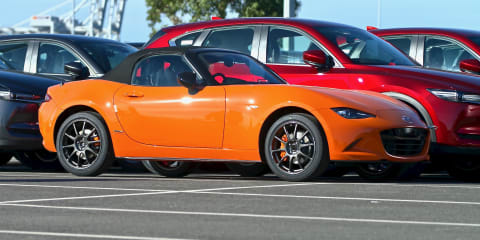 Mazda MX-5 30th Anniversary Edition sold out Down Under