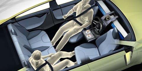 Rinspeed XchangE concept previews autonomous vehicle cabin design