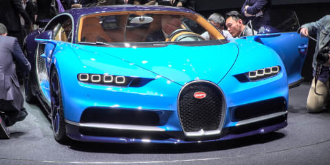 Bugatti Chiron : 2016 Geneva Motor Show