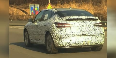2021 Genesis GV60 electric SUV spied testing, Australian launch expected in 2021