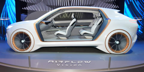 Chrysler Airflow Vision concept debuts at CES 2020