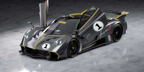 2021 Pagani Huayra R: $4 million track-only hypercar revealed