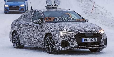 2021 Audi A3 sedan spied without camouflage