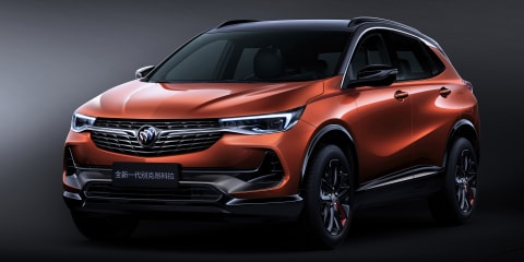 Buick Encore, Chevrolet Tracker revealed