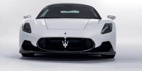 2021 Maserati MC20 revealed in leaked images