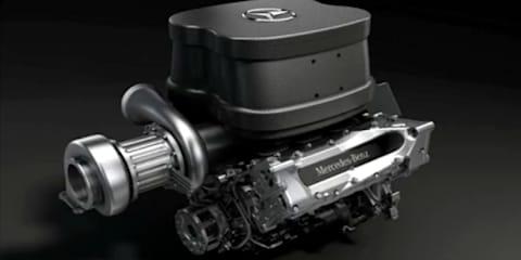 Mercedes-Benz fires up 2014 F1 engine
