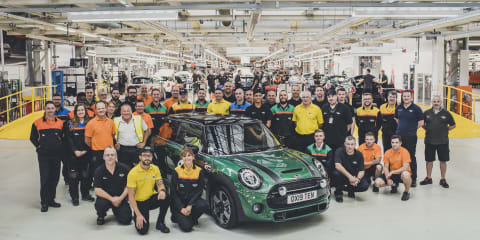 Mini builds 10 millionth vehicle