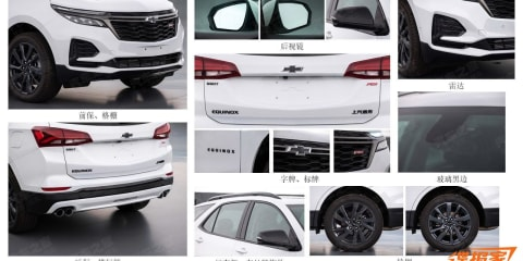 2020 Holden Equinox surfaces in China leak ahead of Australian debut