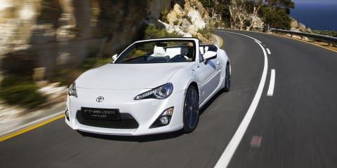 Toyota 86 Convertible concept revealed
