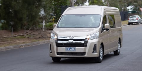 2020 Toyota HiAce review: Super LWB diesel