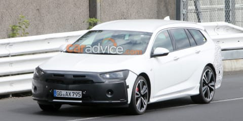 2020 Holden Commodore Sportwagon spied again