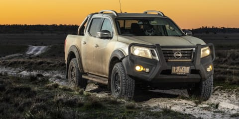 2020 Nissan Navara N-Trek Warrior review: Suspension test mule