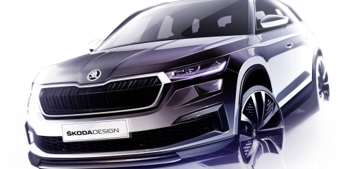 2021 Skoda Kodiaq facelift teased ahead of April reveal – UPDATE: Australian launch timing detailed