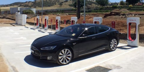 Tesla Supercharger now open in Gundagai