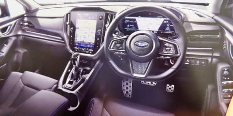 2021 Subaru WRX and Levorg interior leaked