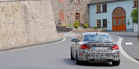 2020 BMW M2 CS spied
